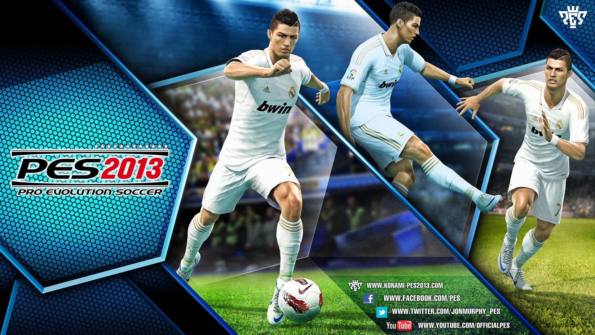 Cristiano Ronaldo será la estrella del Pro Evolution Soccer 2013. Foto: Konami.com
