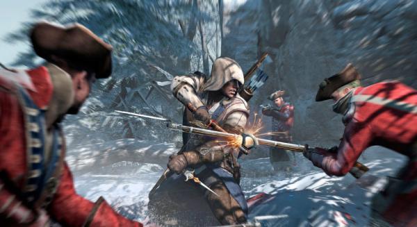 En Assasin's Creed III se combinarán asaltos sigilosos con batallas multitudinarias en campo abierto