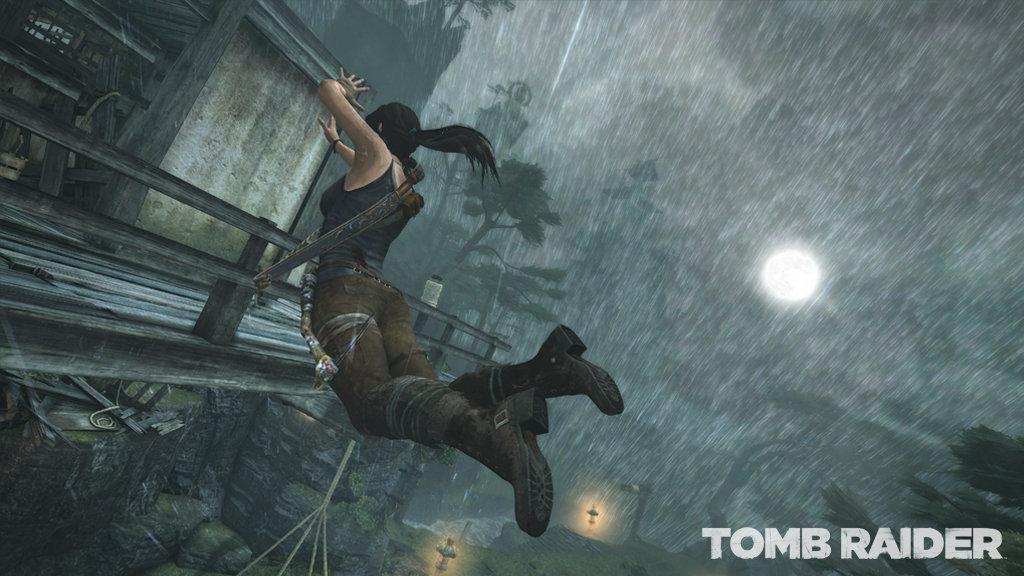 Las mejoras para el renacer de Tom Raider son evidentes