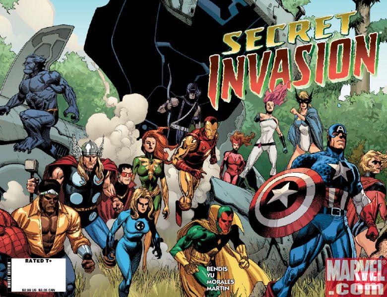 Secret Invasion es una linea de cómics del Universo de Marvel