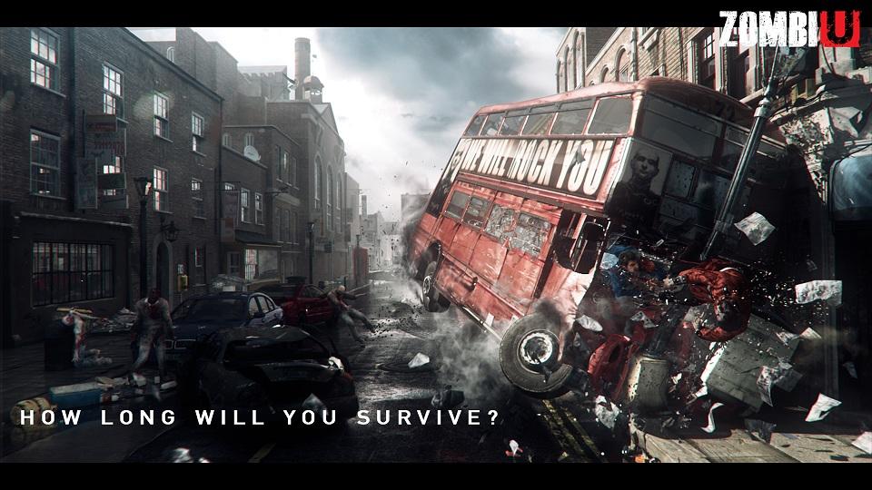 Así se jugará a Zombie U con la nueva Wii