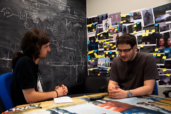 Raúl Rubio, a la derecha, es uno de los principales responsables de DeadLight