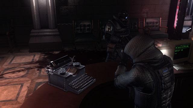 Las máquinas de escribir son solo parte de los objetos coleccionables del juego