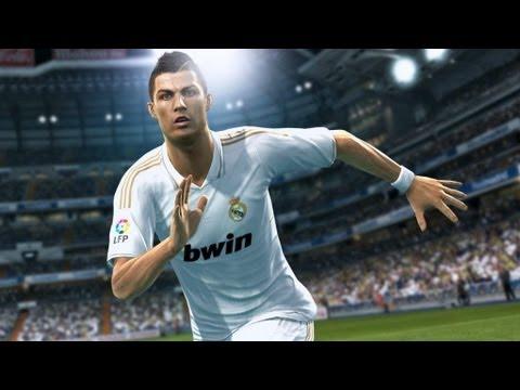 Cristiano Ronaldo, protagonista del primer tráiler de PES 2013