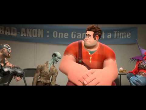 Llega el tráiler de Rompe Ralph, la película sobre videojuegos de Disney
