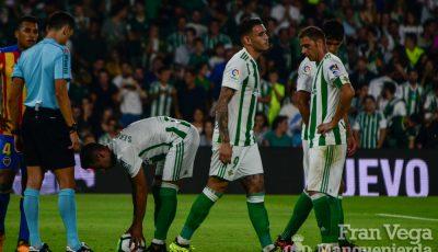 La ilusión pasó como una estrella fugáz, imágenes del Betis-Valencia