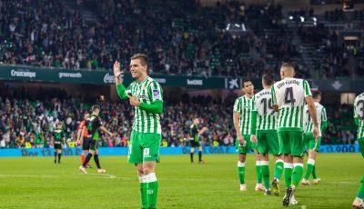 Las imágenes Del Real Betis-Racing de Santander