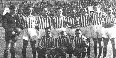 El Betis en 1942 Fuente: Marca 31 de Marzo de 1942