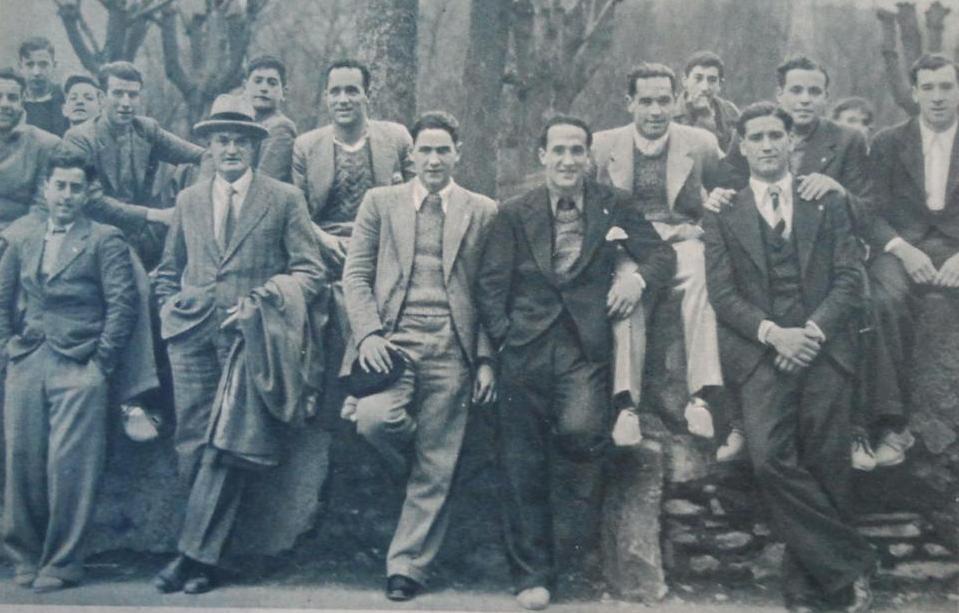 El Betis en Guipuzcoa 1935 (NMP) AS 25-03-1935