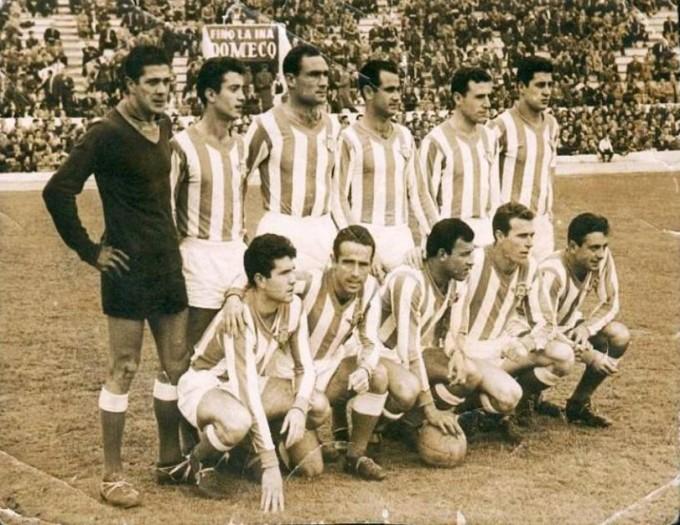 Alineación Betis-Real Madrid Liga 1960 (NMP)