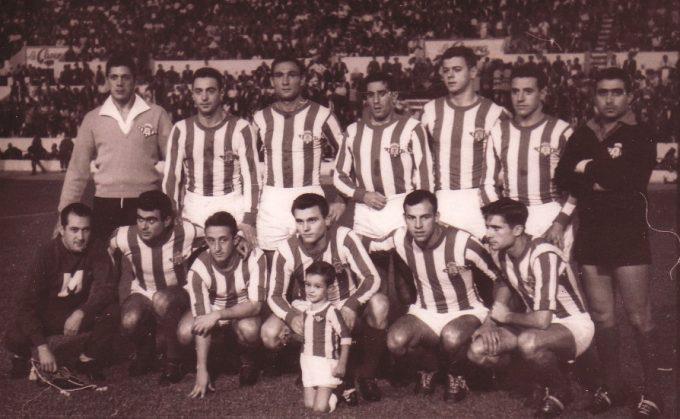 Alineación Betis-Mallorca Liga 1960  A Simó 209