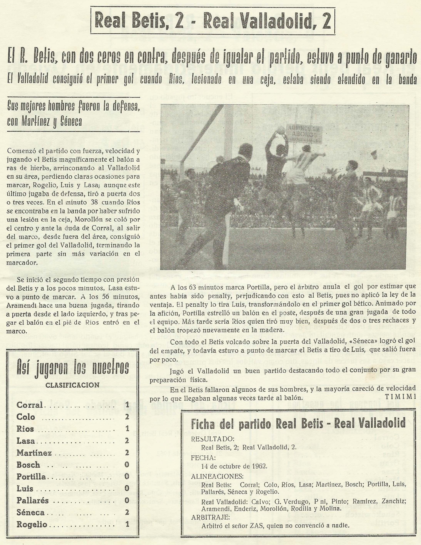 Revista Afición Bética VERDE Y BLANCO.