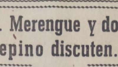 Don Merengue y don Pepino discuten 1964