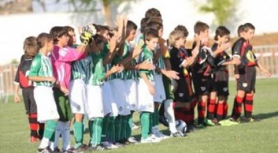 Rubén Sánchez y Miguel Ramírez, alevines convocados por la Selección Andaluza de Fútbol.